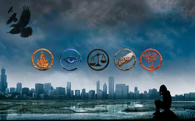 les-5-factions dans Critiques de livres